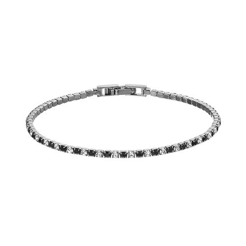 Duchess of Dazzle Crystal Jet Tone Bracelet