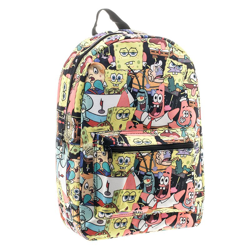 Nickelodeon SpongeBob Squarepants Backpack, Yellow