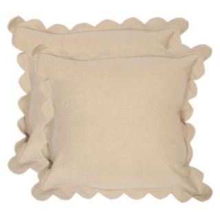 Safavieh 2-piece Pinafore Throw Pillow Set