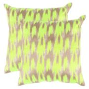 Safavieh 2-piece Boho Chic Throw Pillow Set