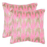 Safavieh 2 pc Boho Chic Throw Pillow Set