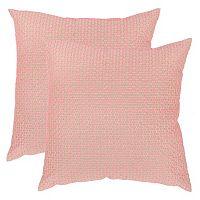 Safavieh 2 pc Box Stitch Throw Pillow Set