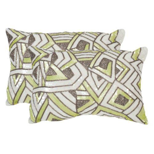 Safavieh 2-piece Ricci Throw Pillow Set