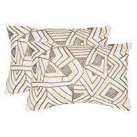 Safavieh 2-piece Ricci Throw Pillow Set
