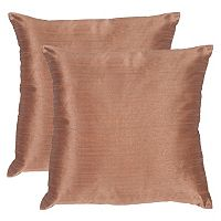 Safavieh 2-piece Luster Throw Pillow Set