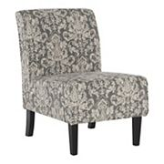 Linon Coco Damask Accent Chair