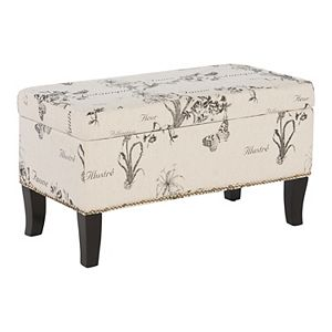 Surprising Madison Park Frances Storage Ottoman Ncnpc Chair Design For Home Ncnpcorg