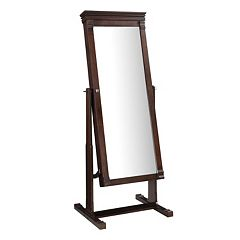 Linon Angela Cheval Mirror Jewelry Armoire