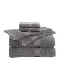 Martex Abundance 6 pc Solid Bath Towel Value Pack