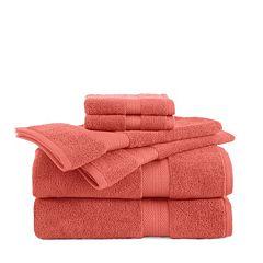 Martex Abundance 6 pc Solid Bath Towel Value Pack