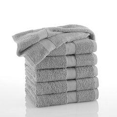 Martex Commercial 6 pkSolid Bath Towels