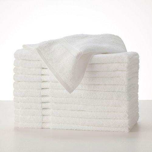 Martex Commercial 12-pk. Solid Hand Towels
