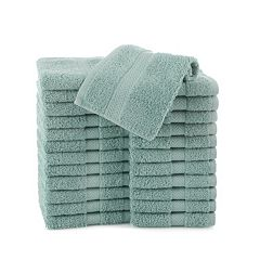 Martex Commercial 24 pkSolid Washcloths