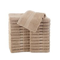 Martex Commercial 24-pk. Solid Washcloths
