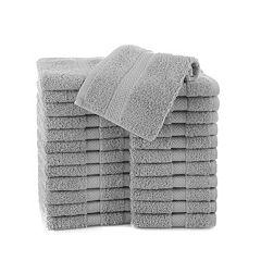Martex Commercial 24-pk. Solid Washcloths