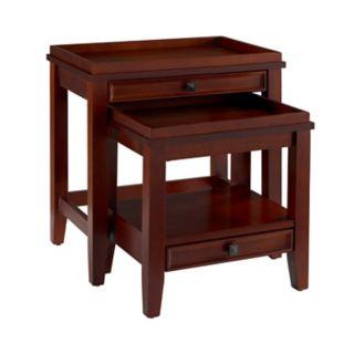 Linon Wander 2-pc. Nesting End Table Set
