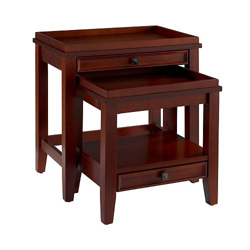 Linon Wander 2-pc. Nesting End Table Set