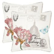 Safavieh 2-piece Gloria Throw Pillow Set