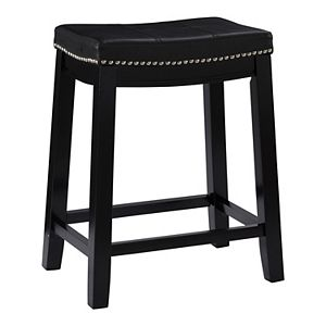Pleasing Linon Allure Counter Stool Andrewgaddart Wooden Chair Designs For Living Room Andrewgaddartcom