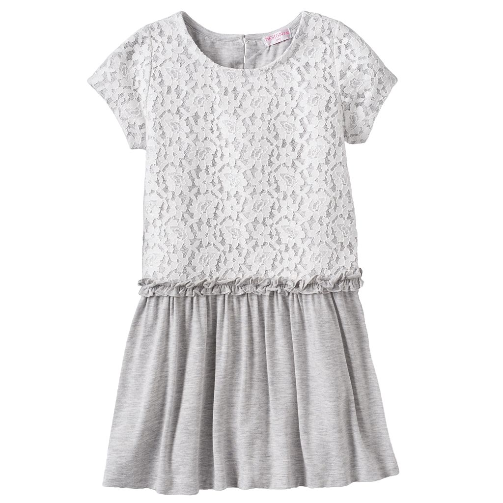 Design 365 Floral Lace Dress - Toddler Girl