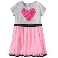 Design 365 Pleated Tulle Dress - Toddler Girl