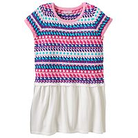 Design 365 Fairisle Sweater Dress - Toddler Girl