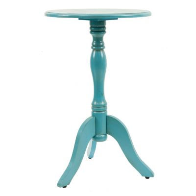 Decor Therapy Simplify Pedestal End Table