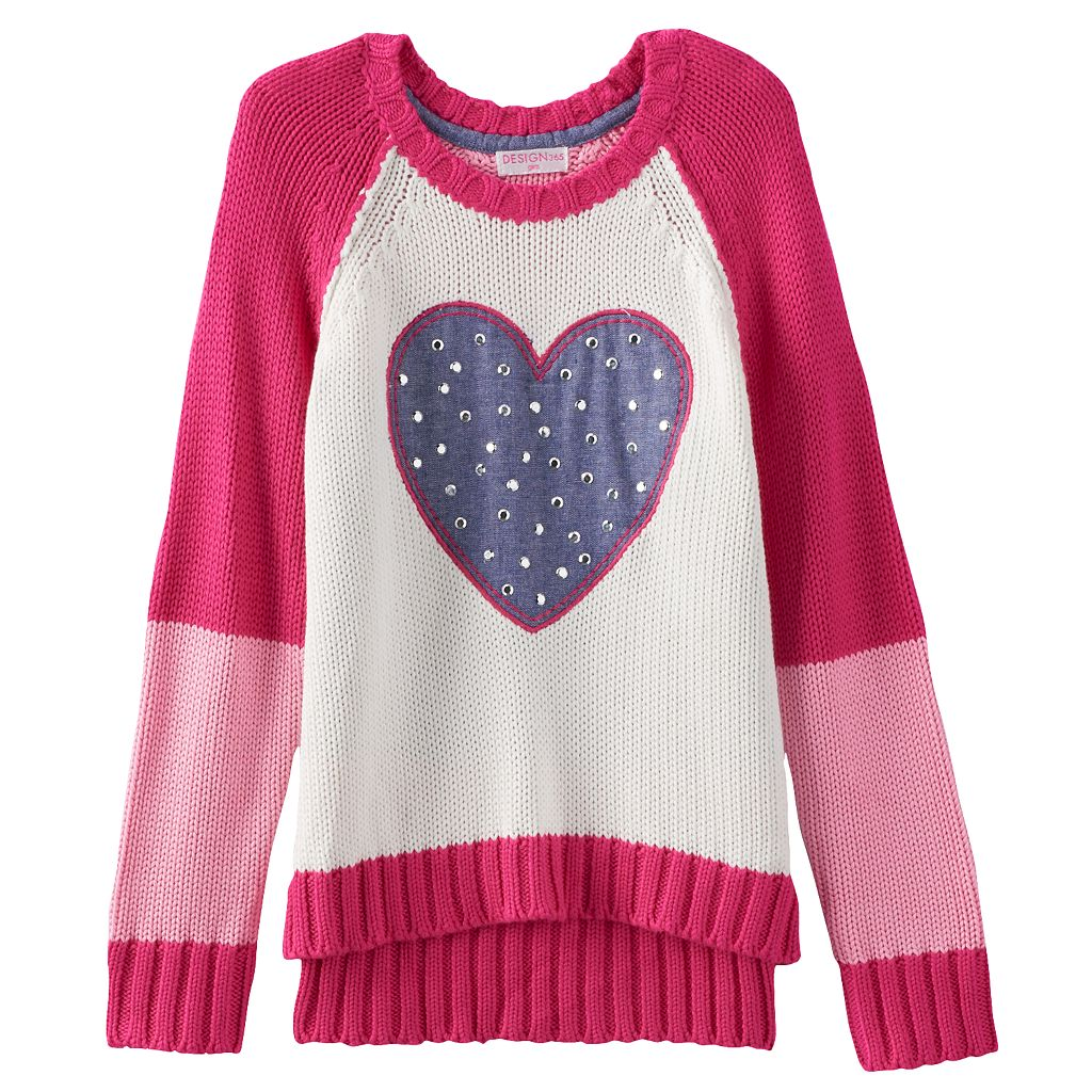 Design 365 High-Low Sweater - Toddler Girl