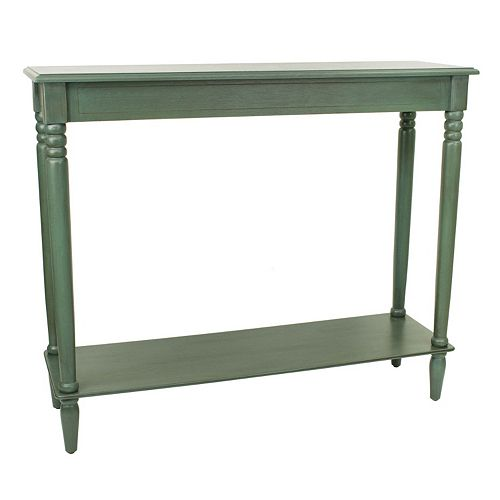Decor Therapy Simplify Large Console Table