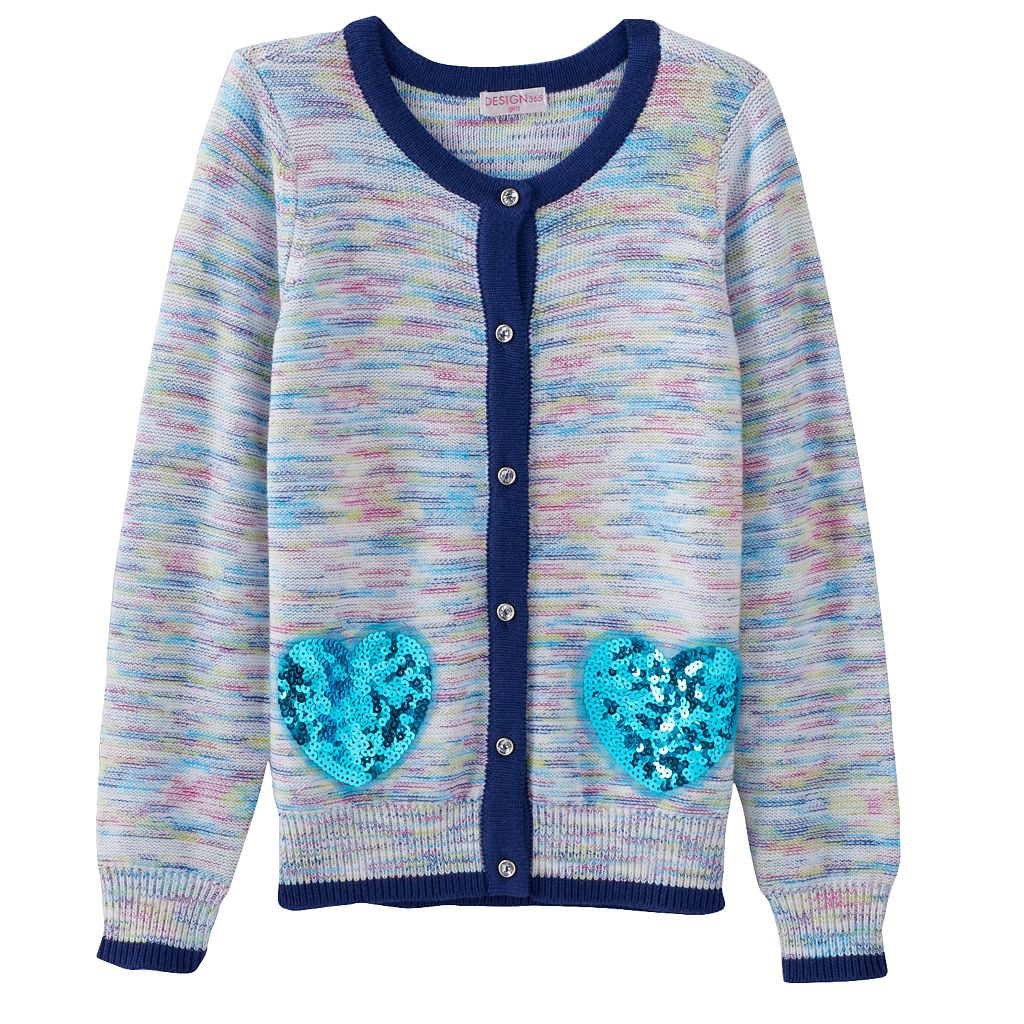 Design 365 Marled Cardigan - Toddler Girl