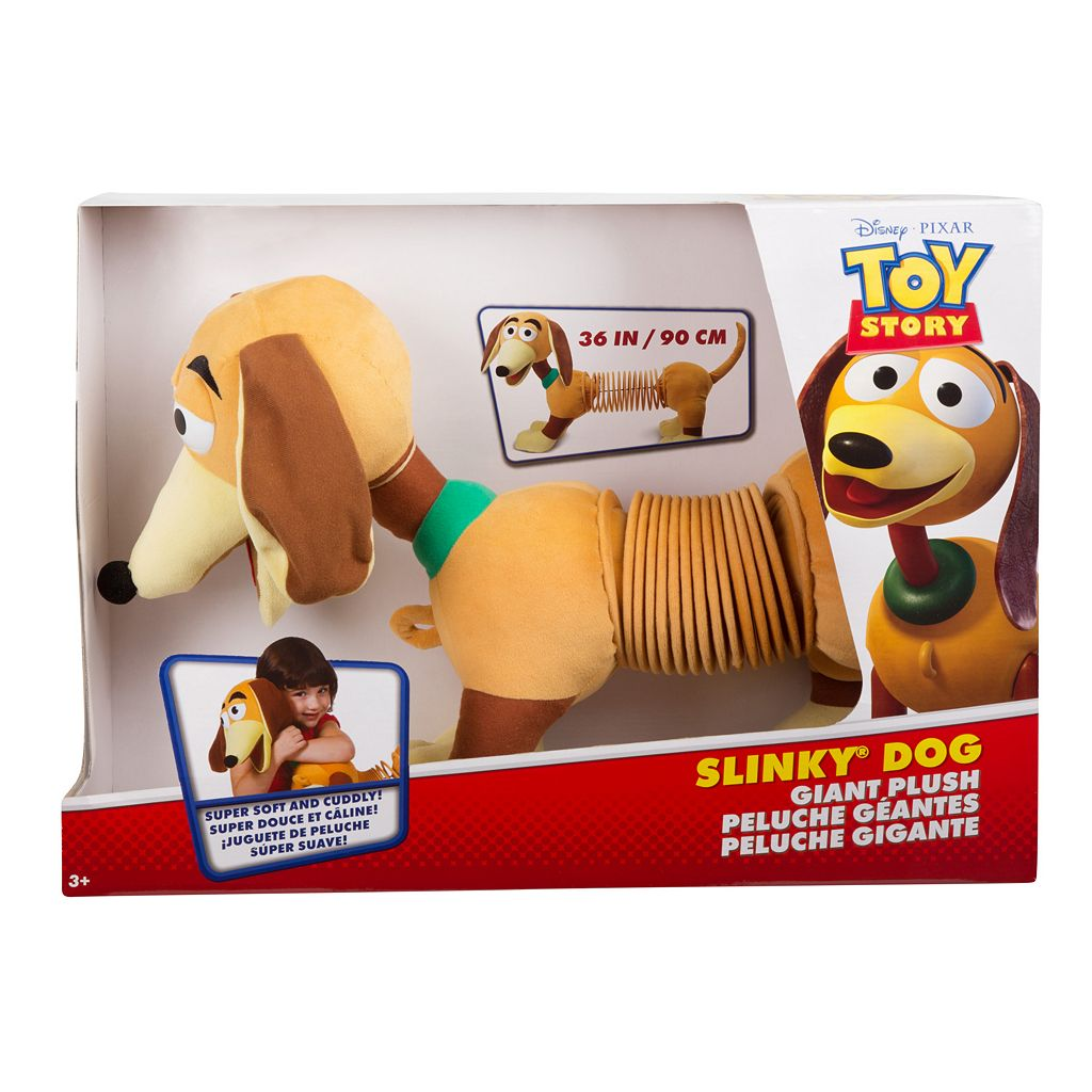 Disney / Pixar Toy Story Slinky Dog Plush by Slinky