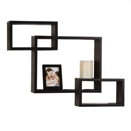 Melannco 3-piece Interlocking Wall Cubes & Frame Set