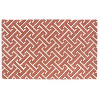 Kaleen Revolution Greek Key Wool Rug - 8' x 11'
