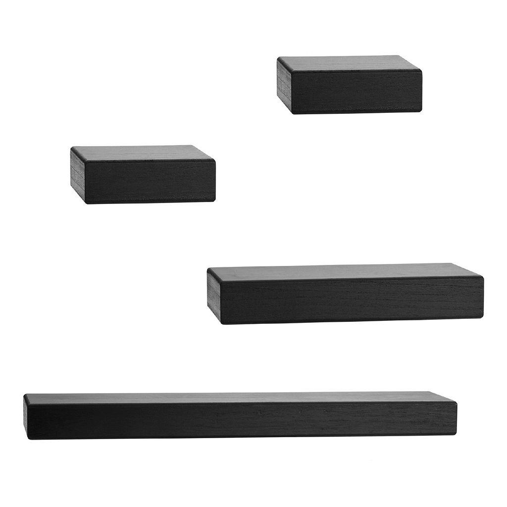 Melannco 4-piece Chunky Wall Ledge Set