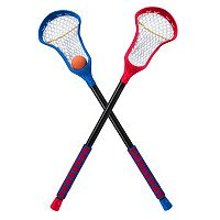 POOF Pro Gold 3-pc. Lacrosse Sticks & Ball Set