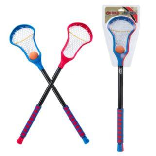 POOF Pro Gold 3-pc. Lacrosse Sticks & Ball Set