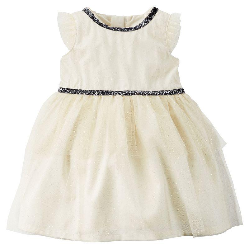 Carter's Glitter Tulle Dress - Baby Girl