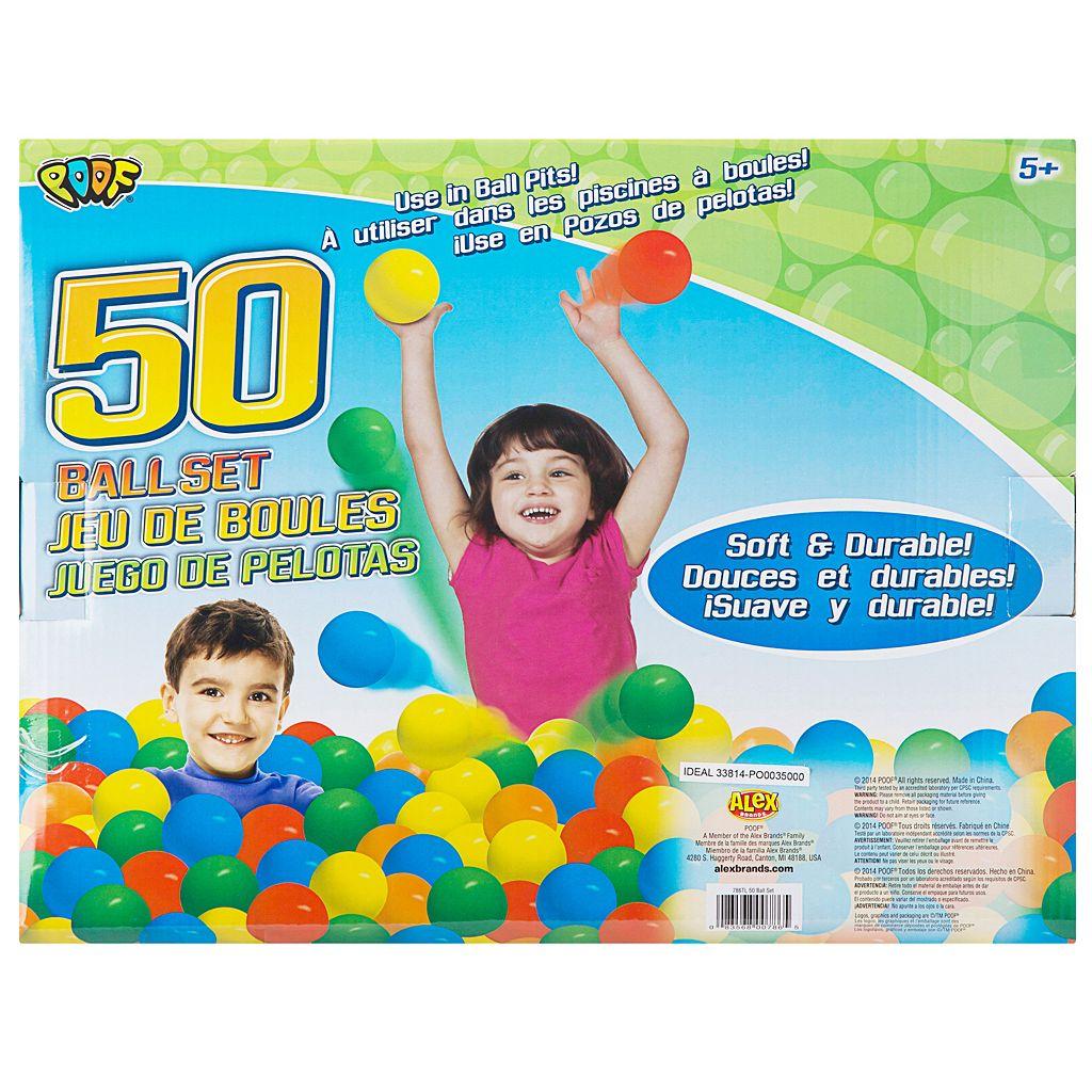 POOF 50 Pit Ball Set