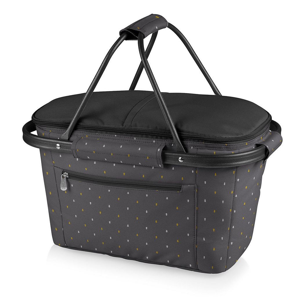 Picnic Time Collapsible Market Basket Tote