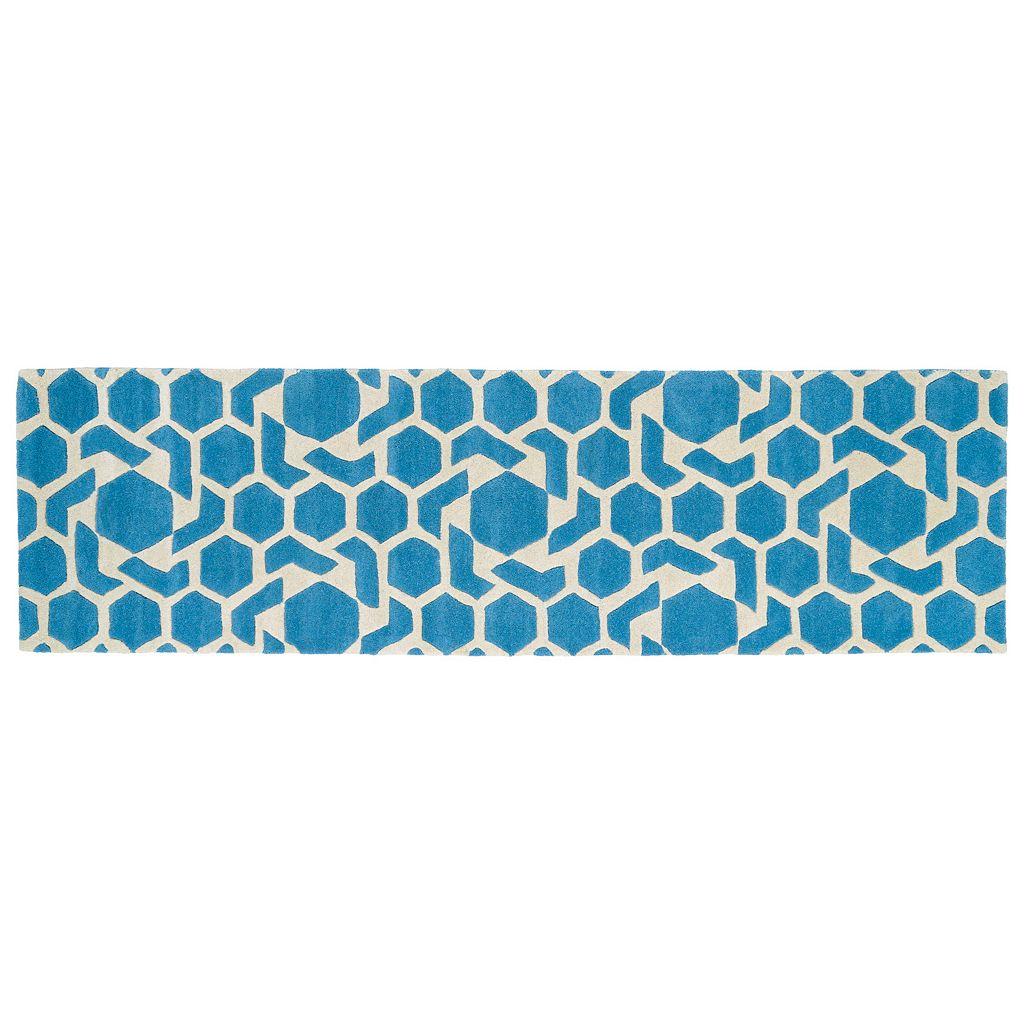 Kaleen Revolution Geometric Star Wool Rug