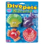 POOF 4-pk. Dive Pets Water Toys