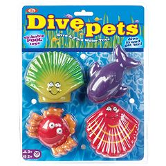 POOF 4 pkDive Pets Water Toys