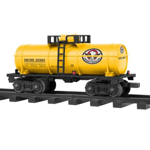 Snoopy Railroad G Gauge Tank Car by Lionel Trains