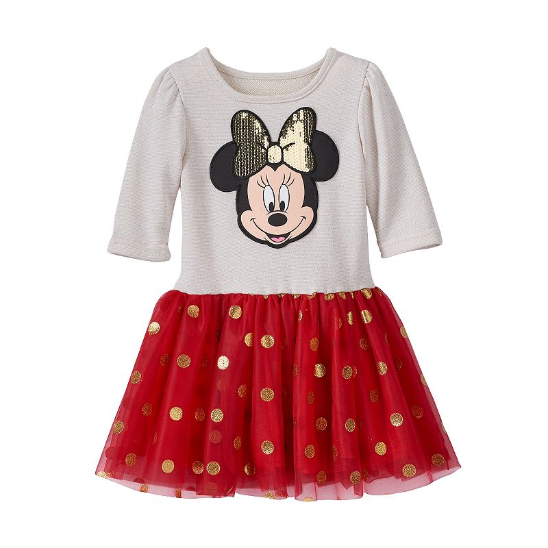 Disney's Minnie Mouse Tulle Dress - Toddler Girl
