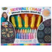 POOF Ultimate Sidewalk Chalk Mandala Stencil Set