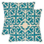 Safavieh 2-piece Moroccan Throw Pillow Set