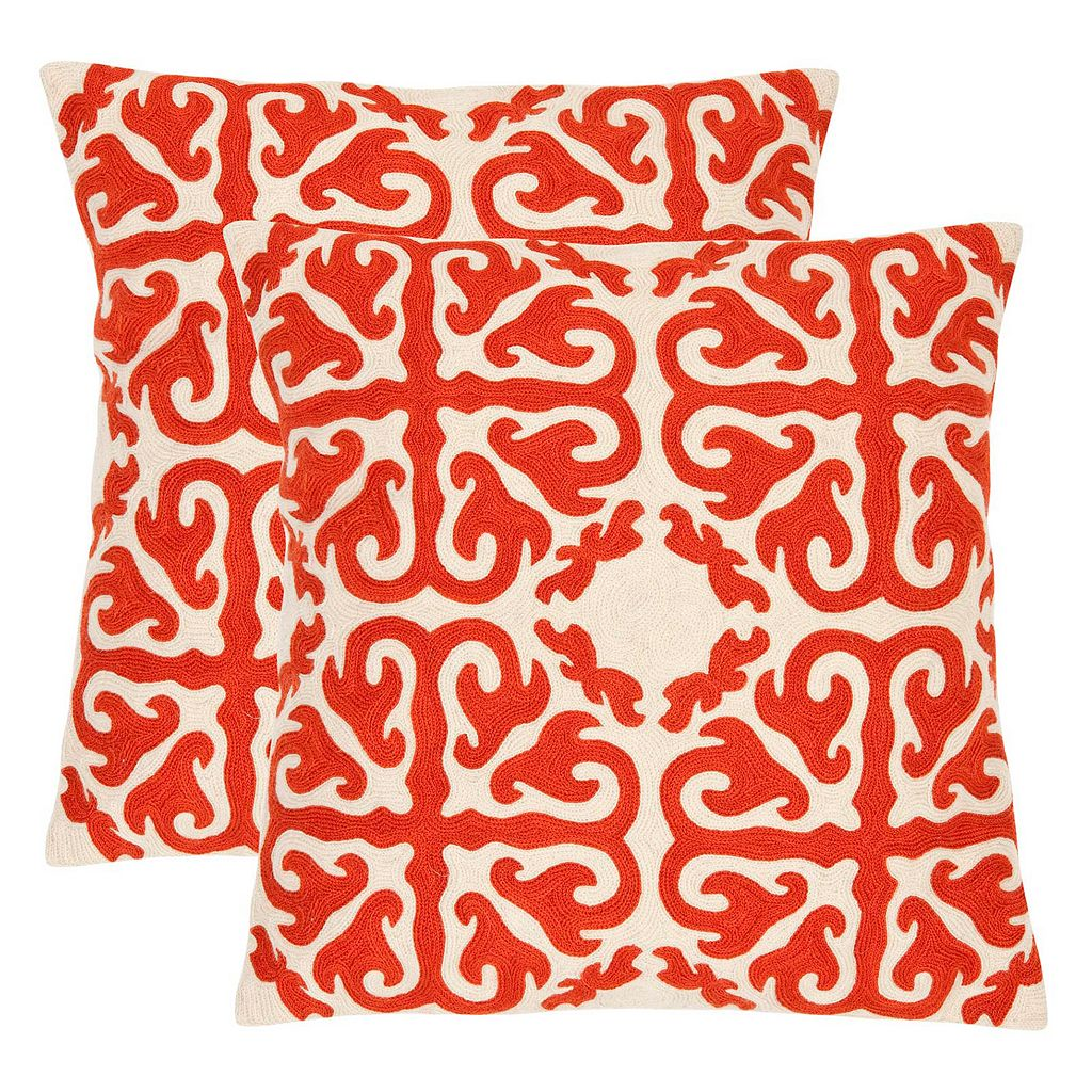 Safavieh 2-piece Moroccan Throw Pillow Set