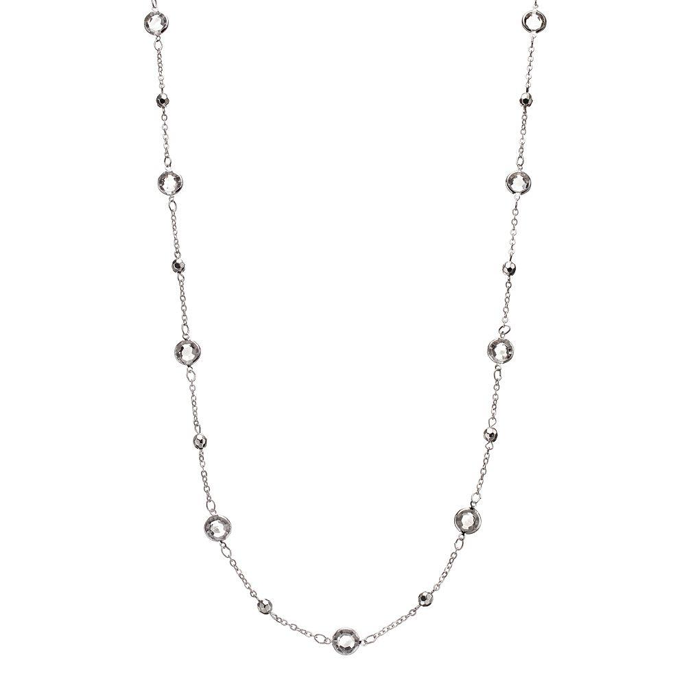 Long Station Necklace