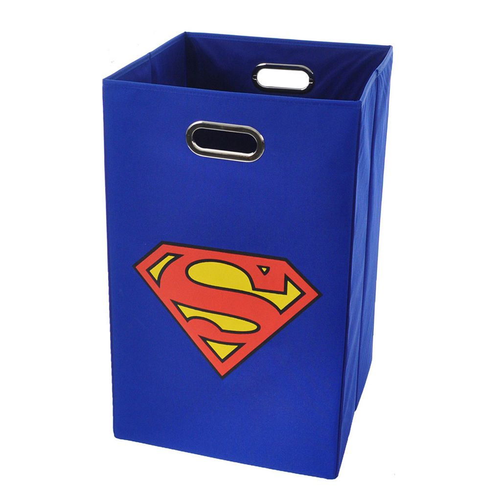 Superman Logo Collapsible Laundry Basket