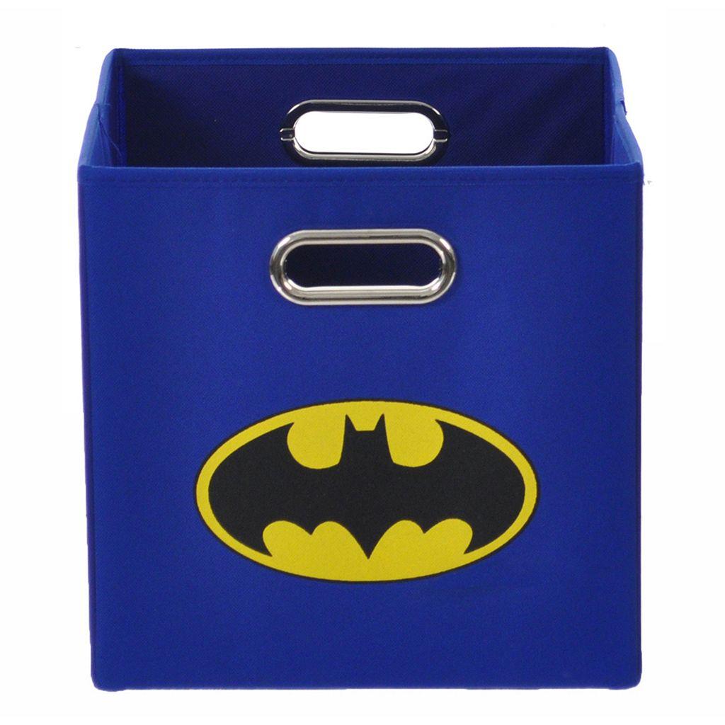 Batman Logo Collapsible Storage Bin